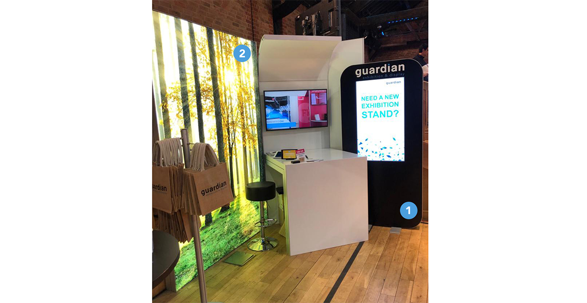 Exhibition Stand Attractors : Two new displays that are attracting a lot of client interest