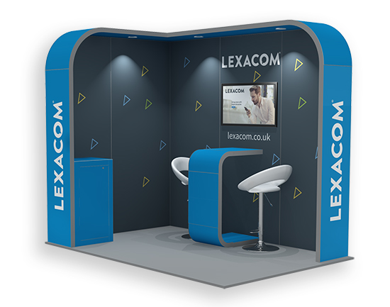 3m x 2m Exhibition Stand