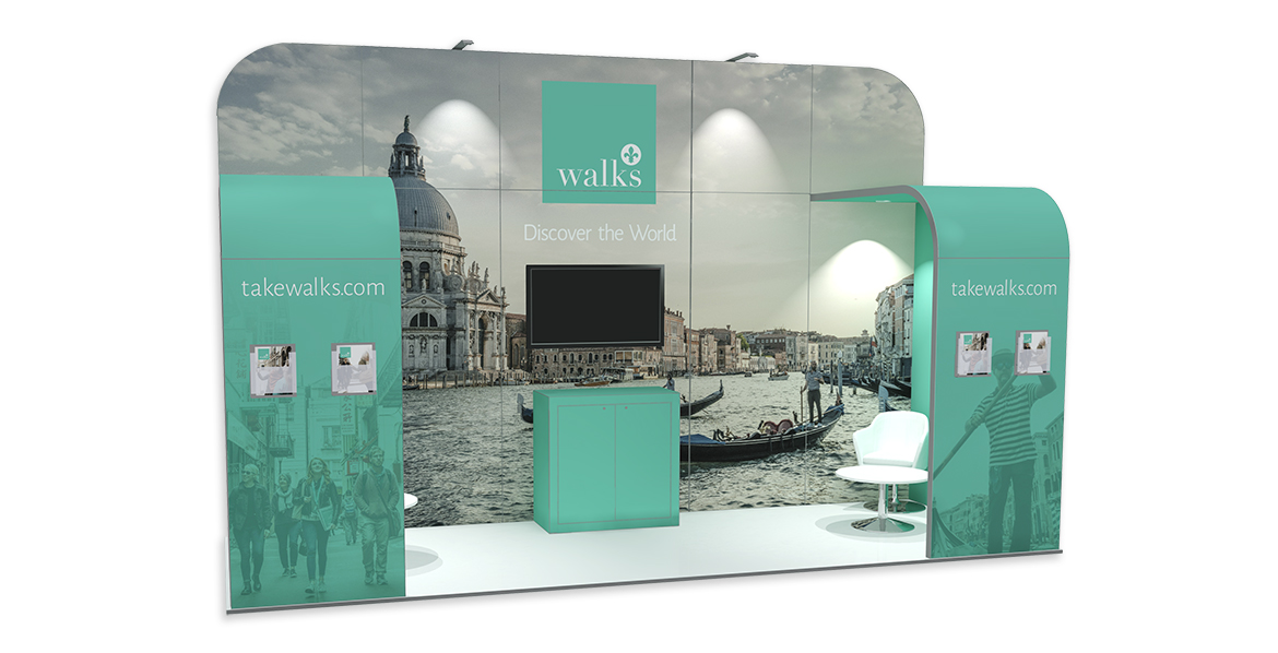5.5m x 2m Exhibition Stand