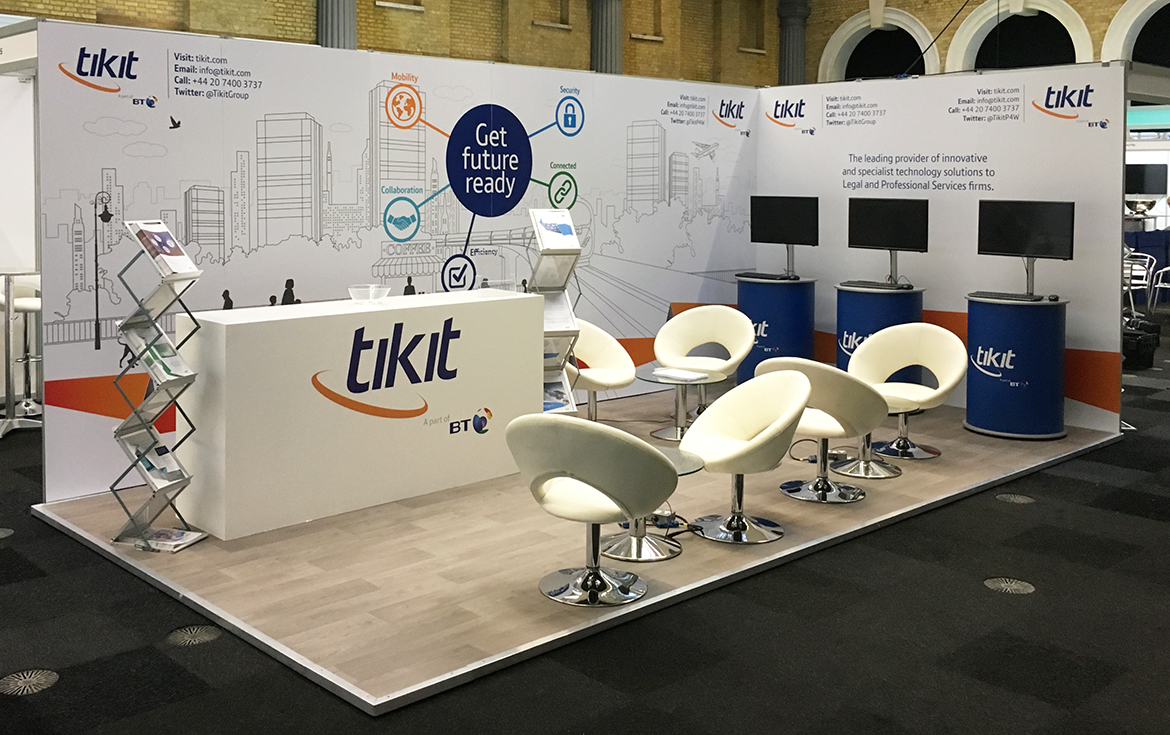 The tikit stand is an excellent example of a shell scheme transformation.