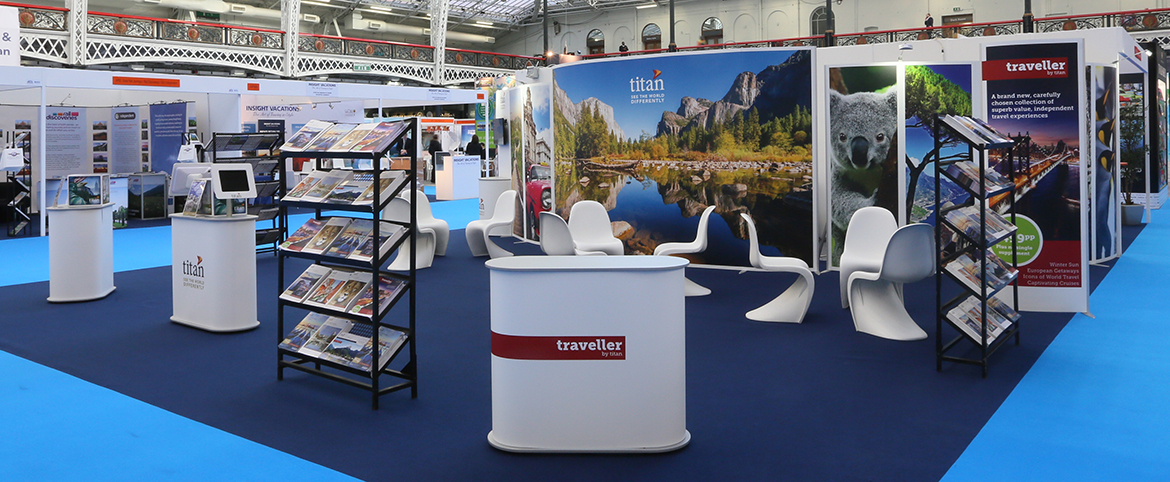 Trade Stands Olympia : One of the fastest and surest ways to improve trade show performance